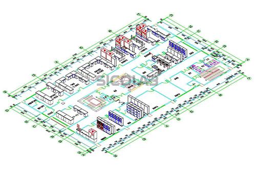 最常见的实验室平面设计图纸!